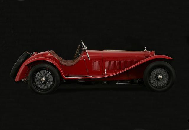 1932 Alfa Romeo 8C 2300 Spider, Chassis no. 2211051 Engine no. 2211111