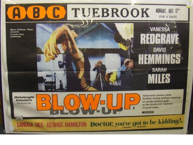 Blow Up, Metro-Goldwyn-Mayer, 1966,