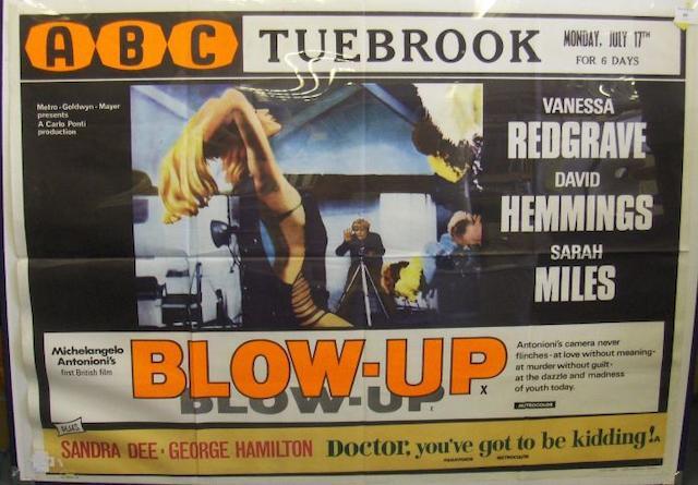 Blow Up, Metro-Goldwyn-Mayer, 1966,