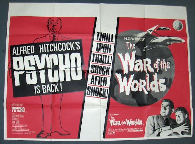 A collection of twenty UK film posters and two sets of film stills, predominately UK Quads posters, including;