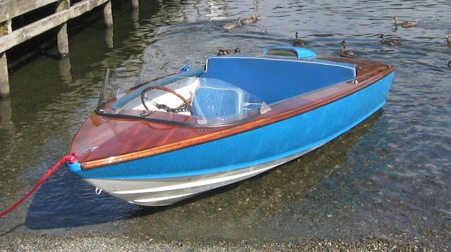 Jetstar: Donald Campbell's 'Bluebird K7' tender boat