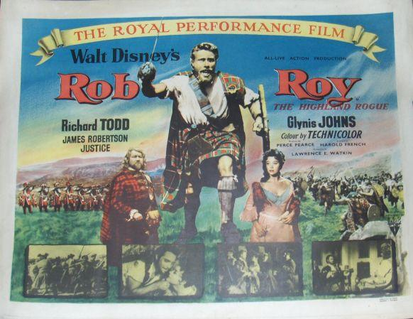 Two UK half-sheet posters, Rob Roy The Highland Rogue, RKO Radio Pictures, 1953 and Bachelor Knight (The Bachelor and the Bobby-Soxer US Title), RKO Radio Pictures, 1947,