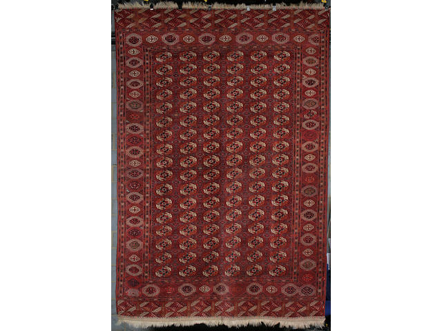 A Tekke carpet West Turkestan, 361cm x 238cm