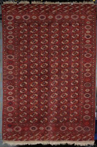 A Tekke carpet West Turkestan, 361cm x 238cm