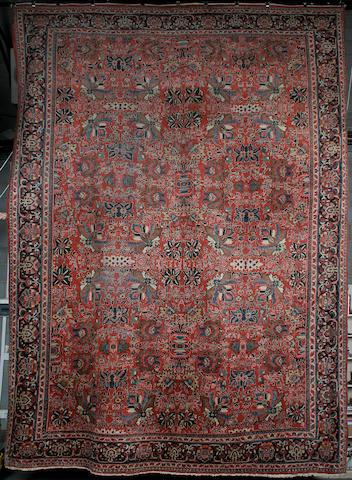 A Mahal carpet West Persia, 521cm x 374cm