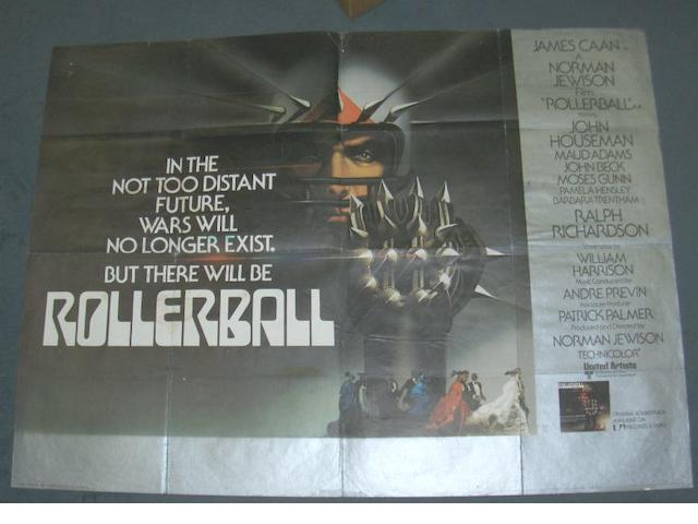 A collection of approximately one thousand film posters, majority being UK Quads,
