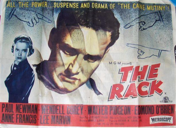 A collection of six US one-sheets and UK Quad drama related posters, including: