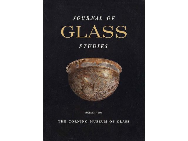 GLASS STUDIES Journal of Glass Studies, vol. 1-43 (without volume 41)