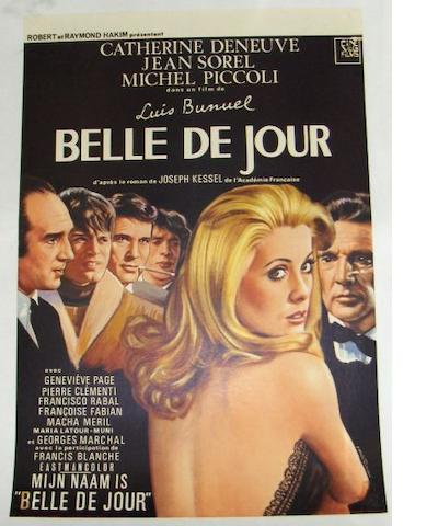 Three 1960's Art House film posters, including:
