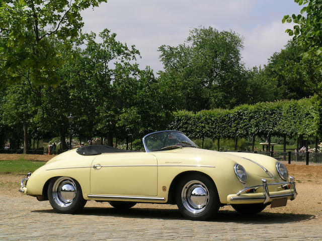 1957 Porsche 356A Speedster  Chassis no. 83699 Engine no. to be advised
