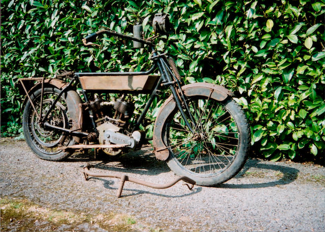 1912 Royal Enfield 6hp  Frame no. 3345 Engine no. 16318