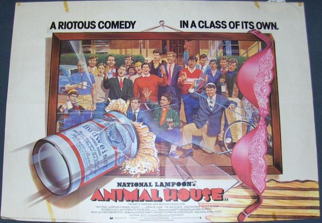 A collection of approximately seventy-five comedy and children's films, majority UK Quad film posters, including: