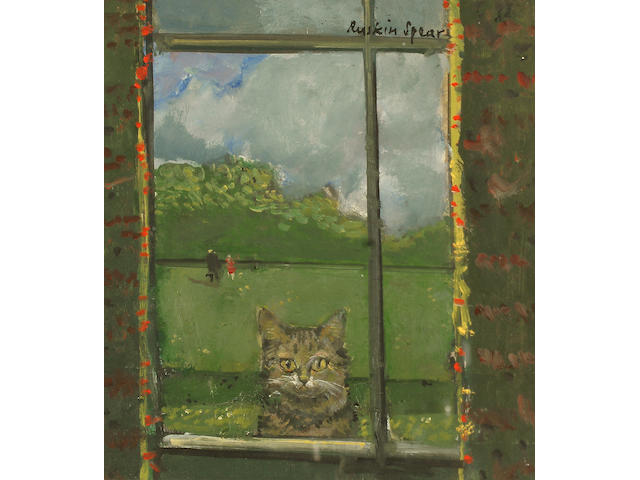 Ruskin Spear R.A. (British, 1911-1990) `Sammy - Looking through the Window`