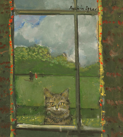 Ruskin Spear R.A. (British, 1911-1990) `Sammy - Looking through the Window`