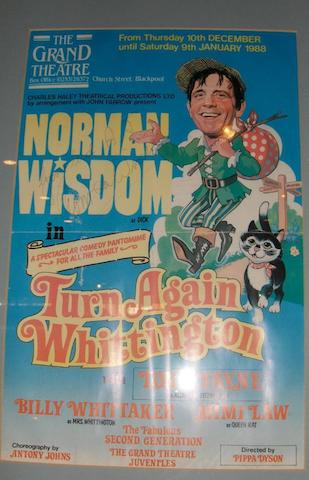 A stage costume as worn by Norman Wisdom, from Turn Again Whittington pantomime, 1987,