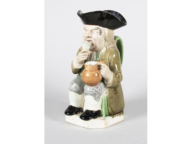A Ralph Wood Toby jug Circa 1790