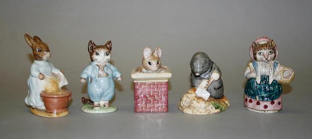A Beswick Beatrix Potter figure 'Tom Thumb'