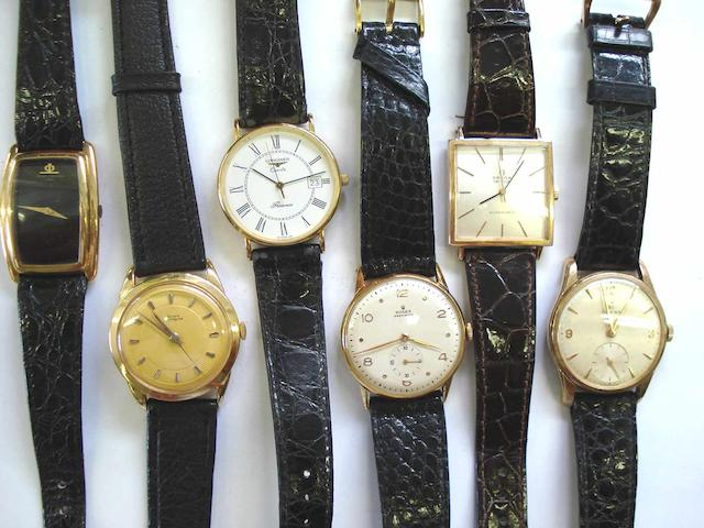 A lot of 6 various wristwatches  6