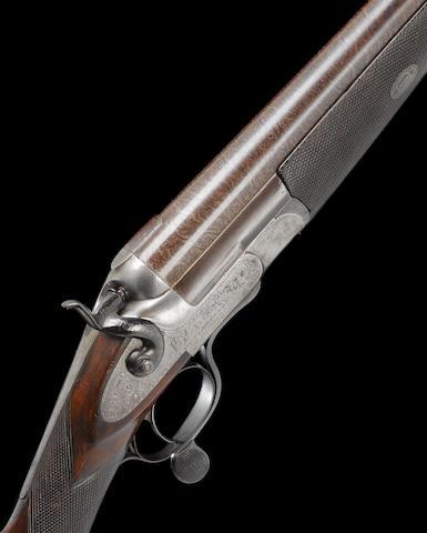 A 4-bore (4in) single-barrelled hammer wild-fowling gun E.M. Reilly, no. 11937