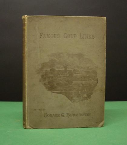 Hutchinson, Horace H.: Famous Golf Links