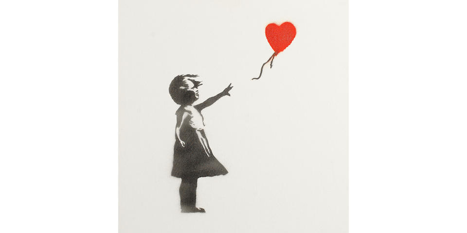 Banksy (British, born 1975) 'Balloon Girl', 2003