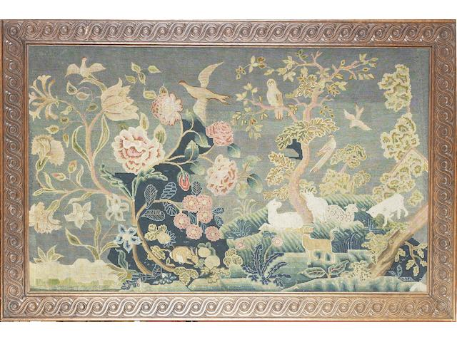 A 17th/18th Century needlework