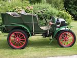 1902 Argyll 8hp Rear Entrance Tonneau  Chassis no. 180 Engine no. 198