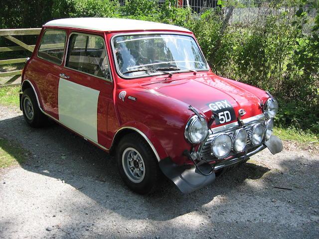 1966 Austin Mini Cooper,