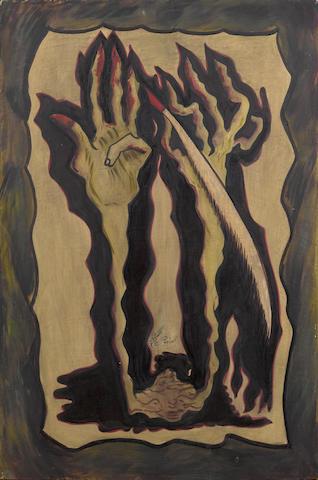 Sadequain (Pakistan, 1937-1987) Untitled