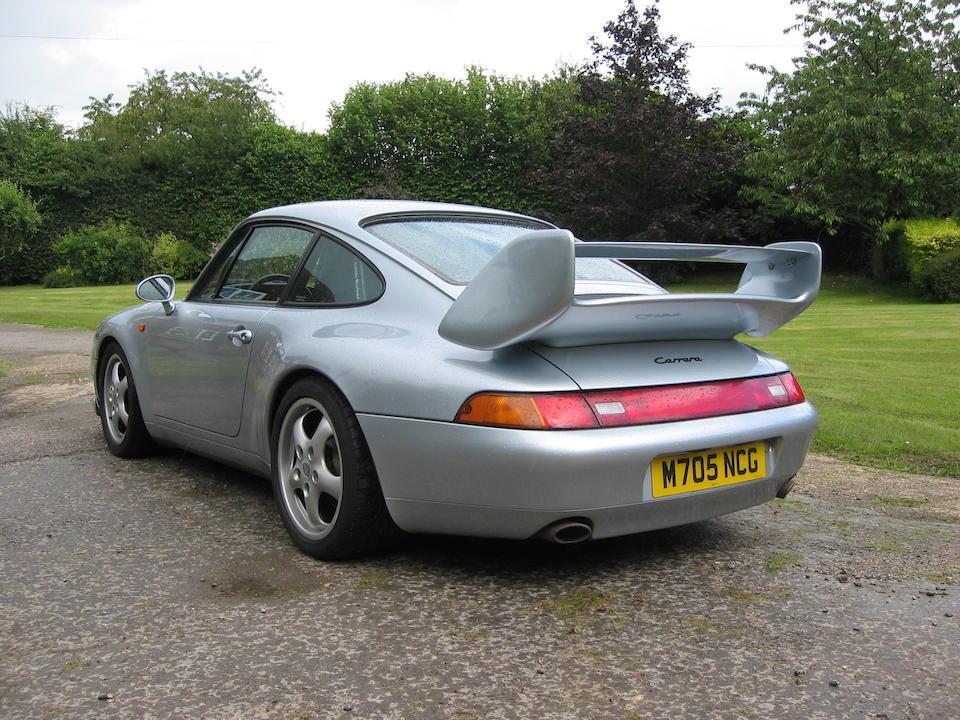 1995 Porsche 911 993 Coupé  Chassis no. WPOZZZ99ZSS313430 Engine no. Not Stated