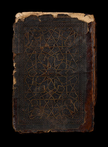 A Mamluk leather book binding Syria or Egypt, 13th/14th Century