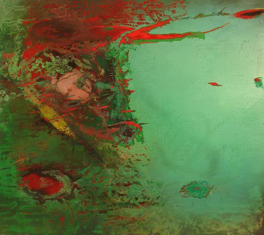 Kenneth Draper RA (British, born 1944) Green Fields, 1995
