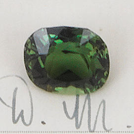 Two unmounted alexandrites (2) (partially illustrated)