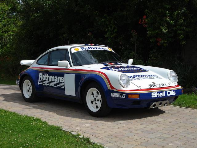 Ex-Rothmans Rally Team,1984 Porsche 911 SC Rally Coupé  Chassis no. 101854 Engine no. 6303012