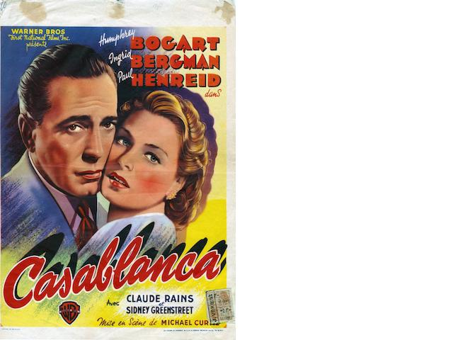 Casablanca 1942 Warner Brothers
