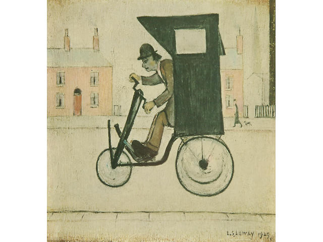 Laurence Stephen Lowry R.A. (British, 1887-1976) 'The Contraption',