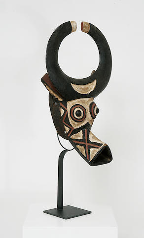 A Bobo/Burkina Faso tribal mask,