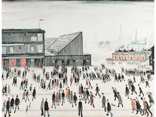 Laurence Stephen Lowry R.A. (British, 1887-1976) 'Going to the Match',