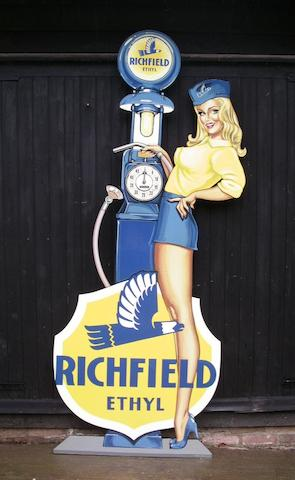 Tony Upson, 'Richfield Petrol Pump Girl',