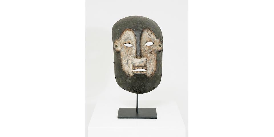 A Boa Mask,