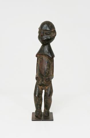 A Lobi wood figure