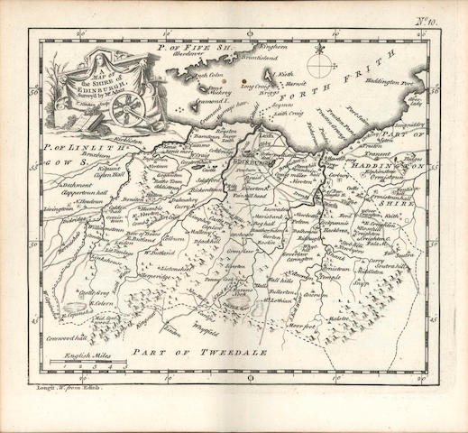 KITCHIN (THOMAS) Geographia Scotiae: Being New and Correct Maps of All the Counties and Islands in t