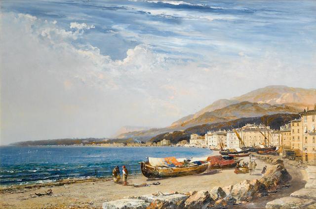 Arthur Joseph Meadows (British, 1843-1907) Mentone 61 x 91.4cm. (24 x 36in.)