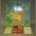 Lowell Thomas Travel Games 'World Cruise' Land-Sea-Air, Parker Brothers Inc, Copyright 1937 2