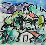 Donald Bain (British, 1904-1979) Paysage, Cagnes