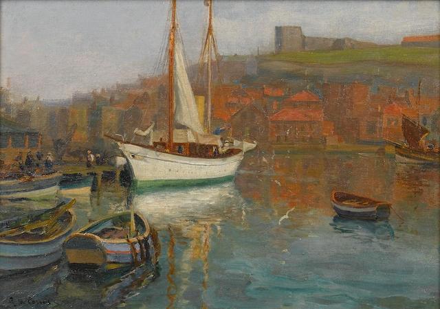 Augustus William Enness (British, 1876-1948) 25.4 x 35.6cm. (10 x 14in.)