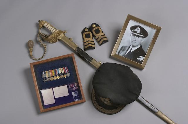 An Important Collection Of Royal Navy Items Relating To Commander Norman Morley DSC