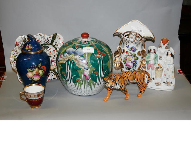 A quantity of assorted ceramics and glassware.
