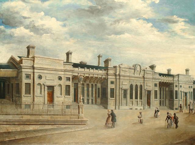 Kirkham (British, late 19th Century) Railway Station, Manchester
