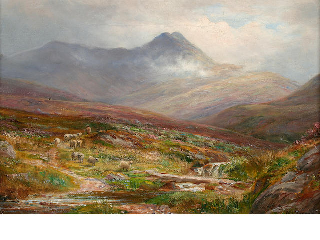 William Lakin Turner (British, 1867-1936) A stream from Skiddaw,